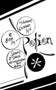 Potion: Scruffy O'Sheas Show Poster 101499