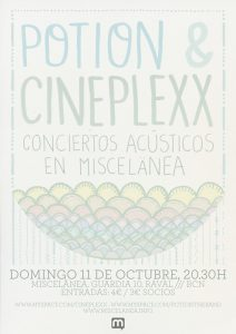 Potion: Show Poster for miscelanea 2010 (by Ana Montiel)