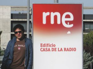 Potion: Madrid, Spain- Michel Outside Radio 3