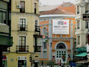 Potion: Caceres, Spain-Popeye Festival Gran Teatro Homenaje à Jeanette