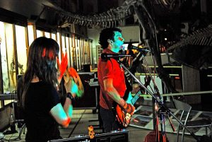 Potion: Buenos Aires, Argentina- Live at Fuga Jurasica (peforming with dinosaurs!) 2 photo by Alejo Fernández