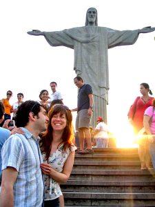 Potion: Rio, Brazil- Annie & Michel Climbing to heaven