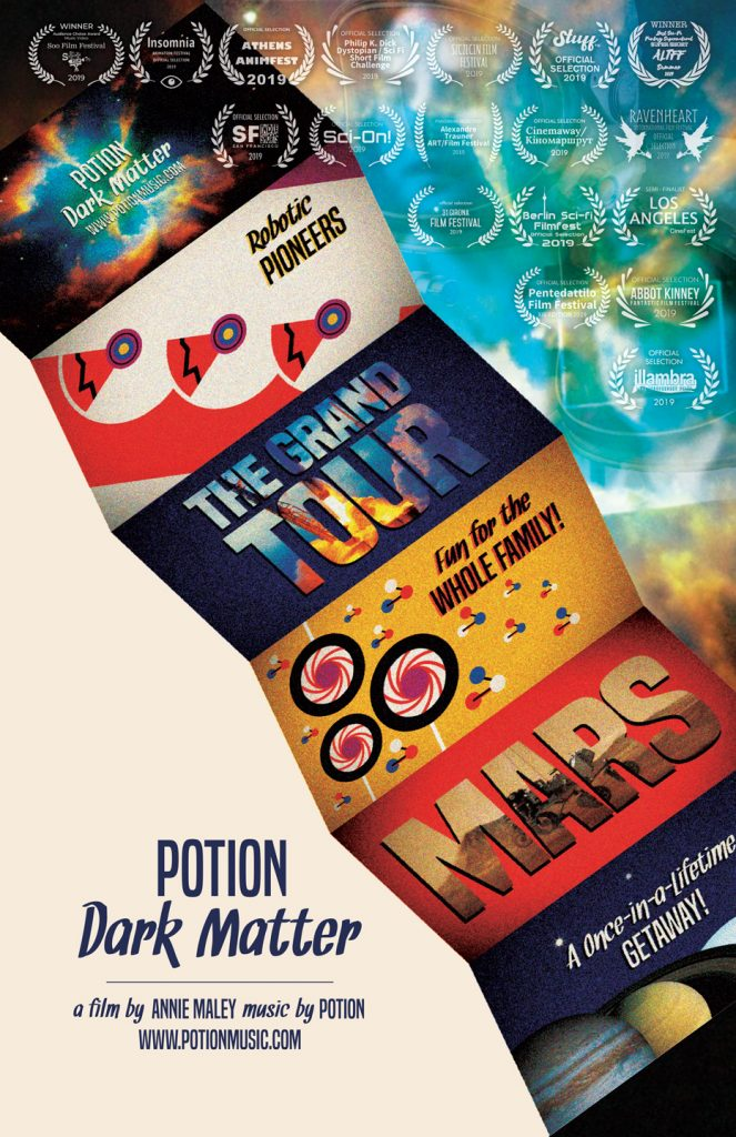 Potion: Dark Matter Film Poster w/laurels 11.20.10