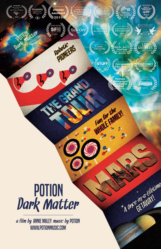 Potion: Dark Matter Film Poster w/laurels 01.15.20