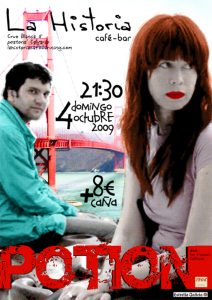 Potion: La Historia Show Poster 2010