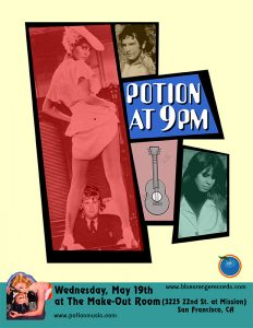 Potion: The Make-Out Room Show Poster 51904