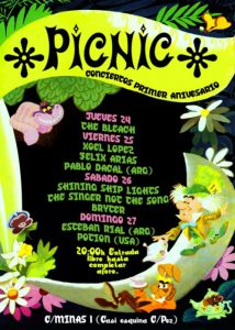Potion: Picnic Show Poster 2010