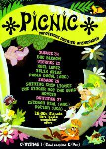 Potion: Picnic Show Poster 2010