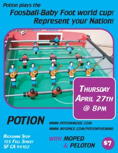 Potion: Rickshaw Stop Show Poster 042706v2