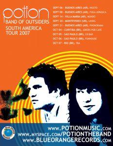 Potion: South America 2007 Tour Poster