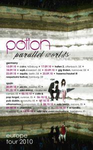 Potion: Potion 2010 Europe Tour Poster