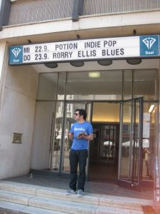 Potion: Hannover, Germany-MIPotion: Hannover, Germany-MIchel under the Marquee for GIG Lindenchel under the Marquee