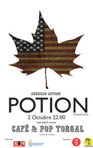 Potion: Ourense, Spain- Cafe & Pop Torgal American Autumn Series