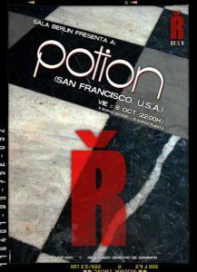 Potion: Zamora, Spain- Sala Berlin Show Poster