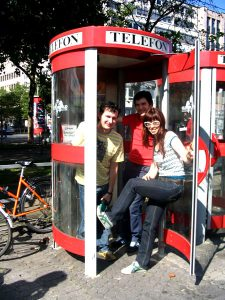 Potion: Düsseldorf-In a Phone Booth with Marcel from Radio Marabu