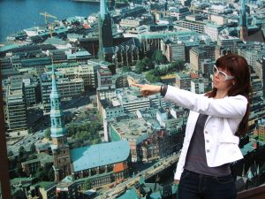 Potion: Hamburg-Annie points the way