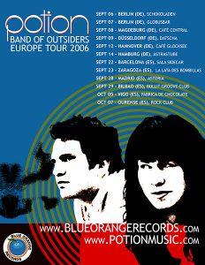 Potion: European Tour Poster 2006