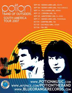 Potion Tour Poster South America 2007